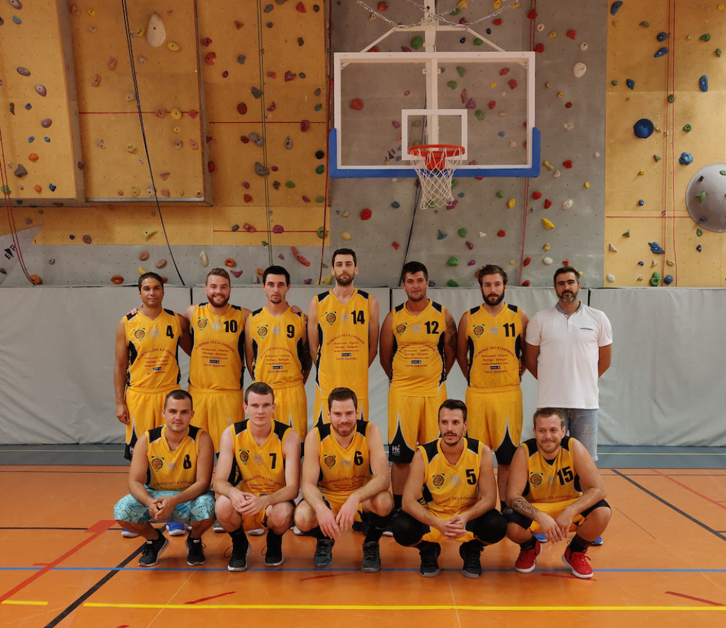 Seniors M 1 - Basket Club des Baous
