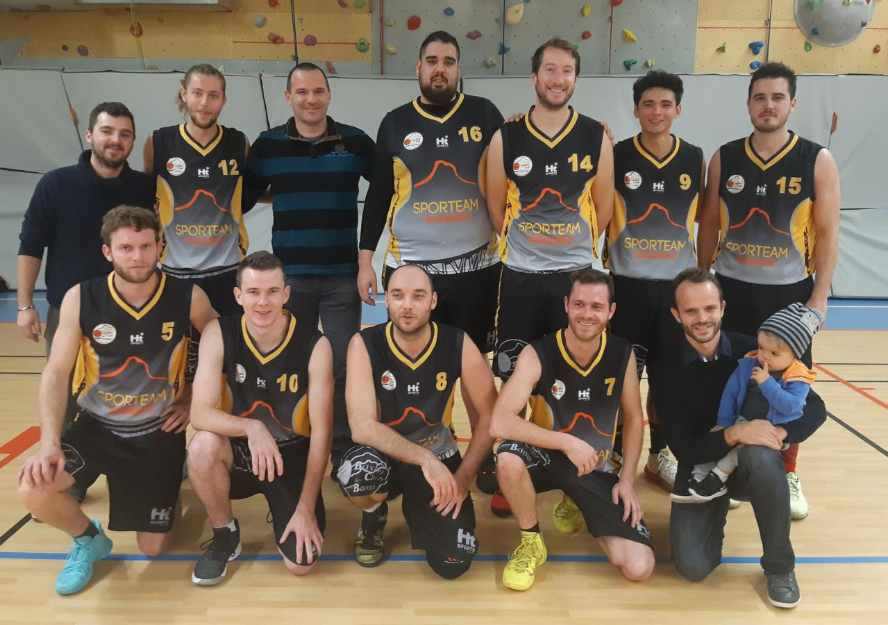 Seniors M 2 - Basket Club des Baous